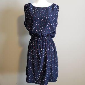 Catherine Malandrino sleeveless dress Medium Navy
